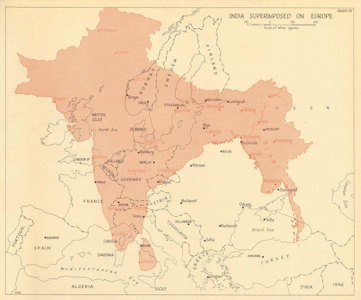 İngiliz Sömürgeciliği ve Hindistan'ın Avrupa ile Karşılaştırılması
